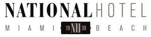 National Hotel Full Logo